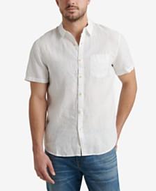 Lucky Brand Men's Short Sleeve Woven