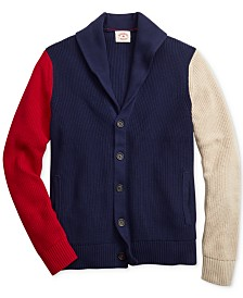 Brooks Brothers Men's Colorblocked Cardigan