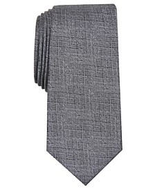 Men's Solid Slim Tie, Created for Macy's