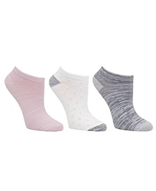 Women's 3pk Mid-Weight Low Cut Socks, Online Only