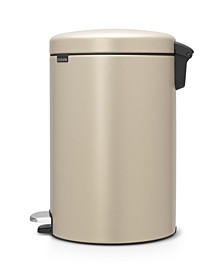 Step Trash Can NewIcon, 5.3 Gallon