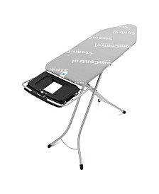Brabantia Ironing Board C, Foldable Steam Unit Holder with SteamControl