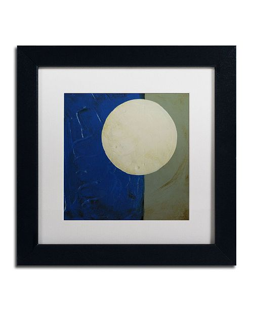 "Trademark Global Nicole Dietz 'Moon Rotation' Matted Framed Art - 11"" x 11"""