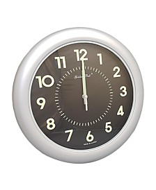 Golden Bell Back Lit Glow in the Dark Analog Wall Clock