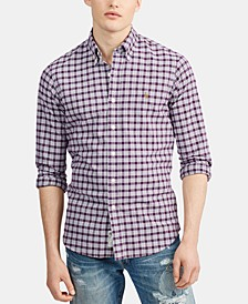 Men's Big & Tall Classic Fit Oxford Button-Down Shirt