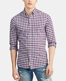 Polo Ralph Lauren Men's Big & Tall Classic Fit Oxford Sport Shirt