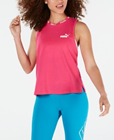 Puma Amplified Cotton Cropped Tank Top
