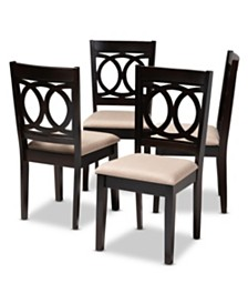 Lenoir Dining Chair, Quick Ship (Set of 4)