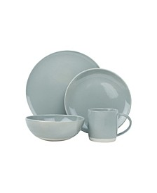 Shell Bisque 16-PC Dinnerware Set, Service for 4