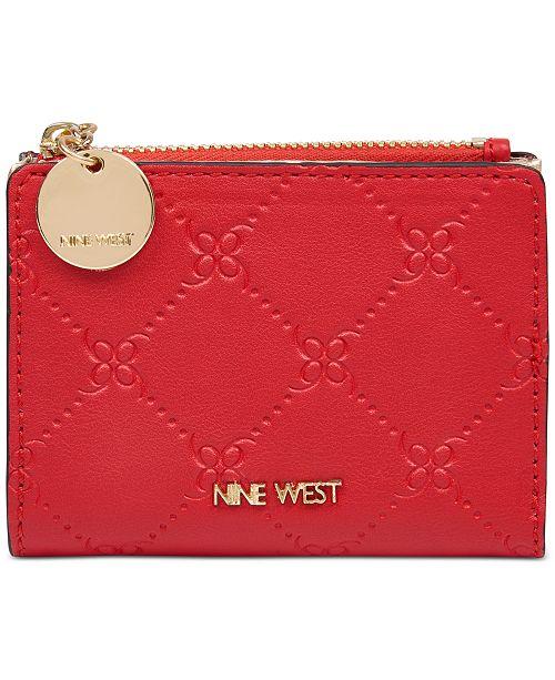 Nine West Double Up Zip Wallet