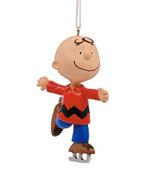 Peanuts Charlie Brown Skating Christmas Ornament