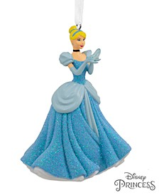 Disney Cinderella Holding Glass Slipper Christmas Ornament