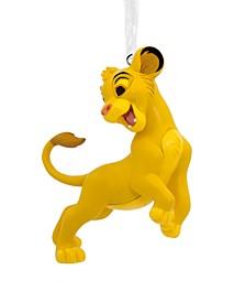 Disney The Lion King Simba Christmas Ornament