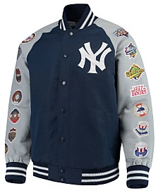 G-III Sports Men's New York Yankees Game Ball Commemorative Jacket