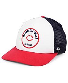 '47 Brand Minnesota Twins Swell Trucker MVP Cap