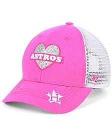 '47 Brand Girls' Houston Astros Sweetheart Meshback MVP Cap