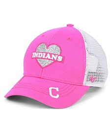 '47 Brand Girls' Cleveland Indians Sweetheart Meshback MVP Cap