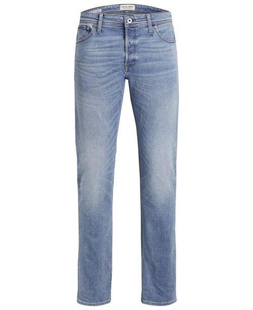 Jack & Jones Men's Comfort Fit Mike Jeans