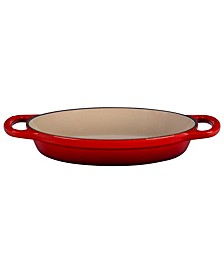 "8"" Cast Iron Oval Baker"