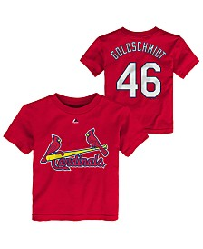 Majestic Toddlers Paul Goldschmidt St. Louis Cardinals Official Player T-Shirt
