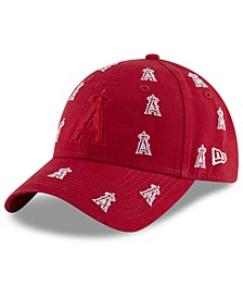Women's Los Angeles Angels Logo Scatter Adjustable 9TWENTY Cap