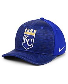 Kansas City Royals Velocity Swooshflex Stretch Fitted Cap
