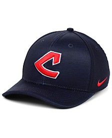 Nike Cleveland Indians Velocity Swooshflex Stretch Fitted Cap