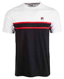 Fila Men's Chest Stripe T-Shirt