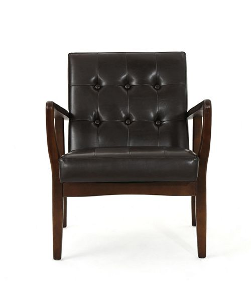 Noble House Callahan Club Chair, Quick Ship