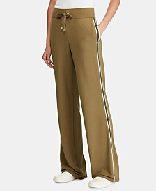 Lauren Ralph Lauren Side-Stripe Sweatpants