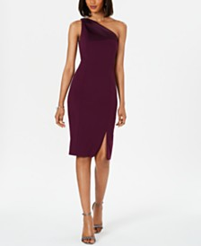 Vince Camuto One-Shoulder Dress