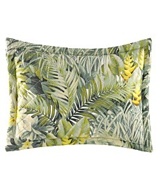 Tommy Bahama Cuba Cabana Medium Green Breakfast Pillow