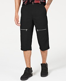 I.N.C. Men's Andrew Messenger Shorts, Created for Macy's