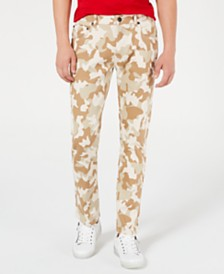I.N.C. Men's Slim-Fit Camo Jeans, Created for Macy's