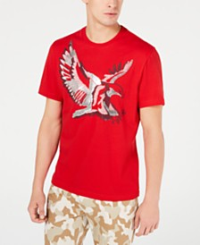 I.N.C. Men's Metallic Bird T-Shirt, Created for Macy's