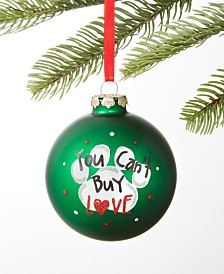 Holiday Lane Pets Rescue Ball Ornament, Created for Macy's