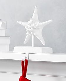 Holiday Lane Seaside Starfish Stocking Holder, Created for Macy's