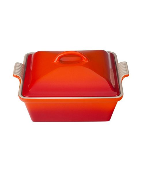 "Le Creuset 9"" Covered Square Casserole"