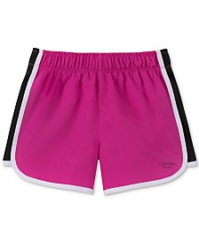 Calvin Klein Big Girls Colorblocked Shorts