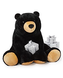 """The Holiday Collection 36""""H Plush Bear, Created for Macy's"""