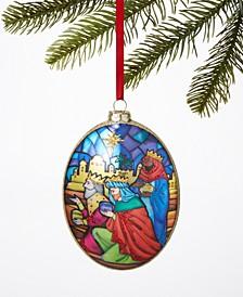 Renaissance Joy To The World Three Kings Glitter Ornament, Created for Macy's