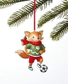 Sports Soccer Fox Ornament, Created for Macy's