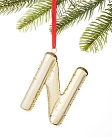 Holiday Lane Initials N Ornament, Created for Macy's