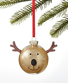 Make Merry Reindeer with Antlers Ornament, Created for Macy's