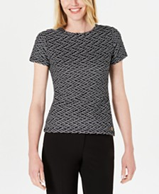 Calvin Klein Textured Top
