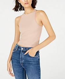 Hayley Cropped Racerback Tank Top
