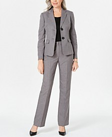 Two-Button Pants Suit