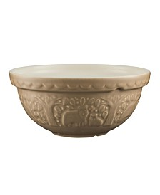 "Mason Cash In the Forest 9.5"" Bear Mixing Bowl"