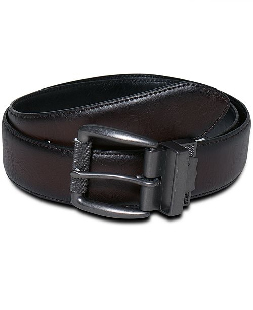 c69d8357facd Levi s Men s Big   Tall Reversible Leather Belt   Reviews - All ...