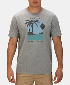 9cb97ca23 Hurley Men's Premium Good Times Logo Graphic T-Shirt